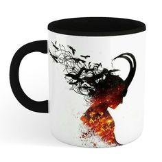 Loki Coffee Mug 3D Printed