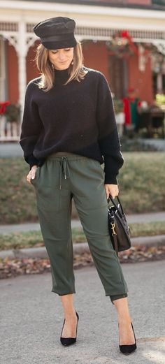 how to ROCK joggers