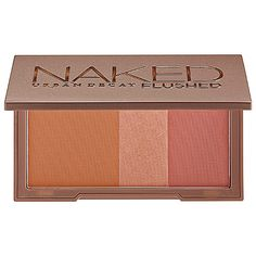 Urban Decay Naked Flushed - bronzer, highlighter, and blush