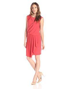 Wear To Work Womens Cap-Sleeve Blouson Dress www.weartowork.us #weartowork #dress