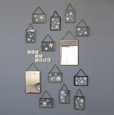 Decor And Go Presse-papier d/écoratif en forme de bulles en verre Bleu Taille unique