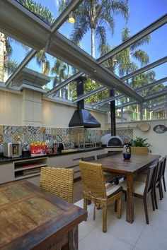 """Exceptional """"outdoor kitchen designs layout"""" info is available on our site. Take a look and you wont be sorry you did. House Design, Decor, House Interior, Outdoor Kitchen Design, Kitchen Designs Layout, Home, Outdoor Kitchen, Modern House, Container House"""