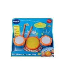 Drum Set Kids Musical Toy Instrument Led Lights Learning Toy Multiple Sounds New