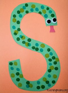 Supplies for arts and crafts preschool art, preschool fun activities, preschool alphabet Letter S Activities, Preschool Letter Crafts, Alphabet Letter Crafts, Abc Crafts, Preschool Projects, Daycare Crafts, Preschool Activities, Letter Art, Crafts For Letter A