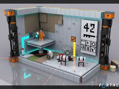Portal 2 LEGO play set (concept)