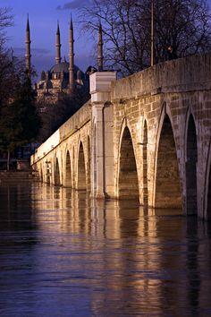 Meriç Bridge - Edirne Türkiye