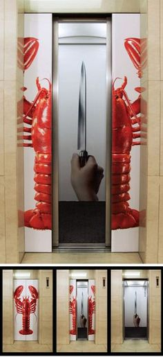 Another 10 Clever Elevator Ads - Oddee.com