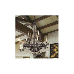 Savoy House Mallory 12-Light Crystal Chandelier & Reviews | Birch Lane
