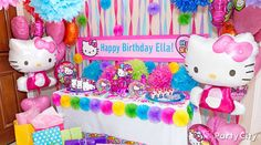Rainbow Hello Kitty Party Ideas - Party City