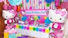 Rainbow Hello Kitty Party Ideas - Party City