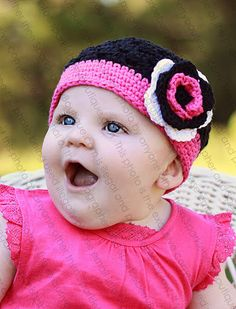 Beanie Hat Crocheted The Mackenna