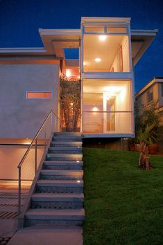 Shipping container homes.. this one Redondo Beach.. cool!