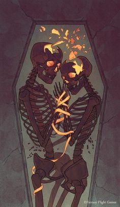 VI Illustration i did for Fantasy Flight Games Art Director: Jeff Lee Johnson Art And Illustration, Skeleton Art, Skeleton Drawings, Creation Art, Arte Horror, Pretty Art, Skull Art, Art Plastique, Art Inspo
