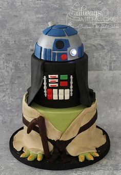 Thinking of just the Darth Vader part for the bday cake