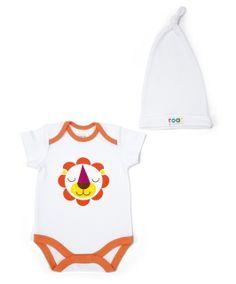 Patternology - Bodysuit & Hat - Lion - Patternology - Mamas & Papas