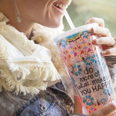 Do more of what makes you happy - and with an insulated on the go cup it might make you even happier!  : )