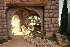 Nice stonework Nativity Scenes, Doll, Google Search, Inspiration, Ideas, Arch, Scene, Biblical Inspiration, Dolls