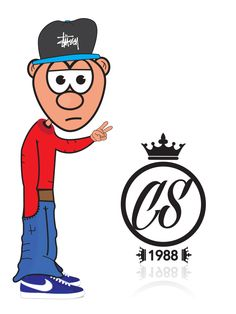 Stussy, Character wearing a Stussy SnapBack