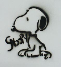 Snoopy Stencil