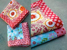 New way to sew baby blankets - quick and easy