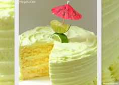 This delicious Margarita Cake with Tequila Lime Buttercream is bursting with lemon lime flavor, with an added kick of tequila buttercream!