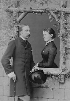 Their Royal Highnesses the Duke and Duchess of Connaught and Strathearn. Married: March 13, 1879