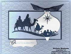Bethlehem Scene Ornament by Michelerey - Cards and Paper Crafts at Splitcoaststampers