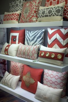 Pillows From The Americas Mart Gift Show In Atlanta For