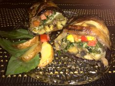 Charlotte eggplant vegetarian style