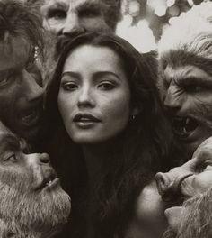 Barbara Carrera in The Island of Dr. Moreau, 1977.