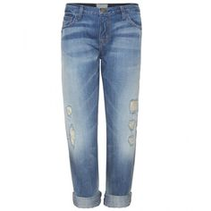 Current/Elliott The Boyfriend Jeans ($521) ❤ liked on Polyvore