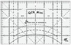 2. QCR Mini© (Ruler) – Sew Kind of Wonderful