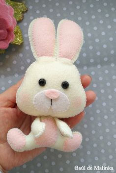 This is a digital tutorial on how to make Bunny from felt Included step by step instructions, pictures and full size pattern pieces. (no need to enlarge or resize). Its completely hand sew and you dont need a sewing machine. THIS IS NOT A FINISHED TOY. THIS IS A PDF PATTERN DOWNLOAD.