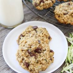 Zucchini Coconut Chocolate Cookies - Easy Dessert Recipes with Vegetables - Shape Magazine