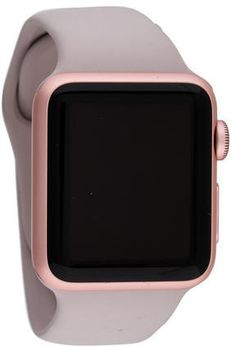 Apple Sport Watch in all Pink, this all pink apple watch is perfect for pink lovers, in a lovely blush pink it is stunning!