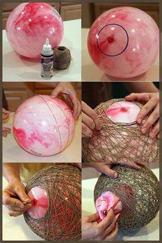 Idea para hacer una ingeniosa lámpara, Decoración 2.0