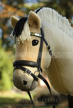 horse pattern Love the Fjord! Diy Horse, Horse Crafts, Horse Tack, Stick Horses, Cute Horses, Beautiful Horses, Hobbies To Try, Hobbies For Women, Quilt Pattern