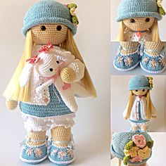 Risultati immagini per Cubby Amigurumi nativity, How to Crochet a Basic Doll - Crochet IdeasCrochet Pattern for Doll TILDA pdf Deutsch English - SalvabraniThis Pin was discovered by ThaImage gallery – Page 140385713363338433 – ArtofitPlease note: Crochet Dolls Free Patterns, Crochet Doll Pattern, Amigurumi Patterns, Doll Patterns, Crochet Amigurumi, Amigurumi Doll, Knit Crochet, Crochet Doll Clothes, Knitted Dolls
