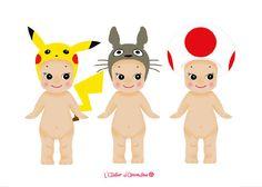 Carte Sonny Angel x Japan Geek par AtelierAmandine sur Etsy