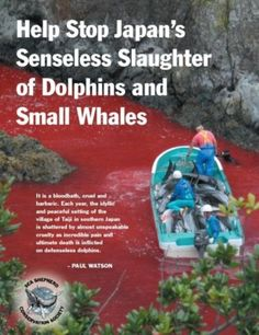 Save Dolphins from Slaughter in Taiji. I know this is hard to look at...but it is real!  And we need to bring attention to it!  This has to stop!