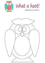 Nice Owl Template. @Holly Jorgensen