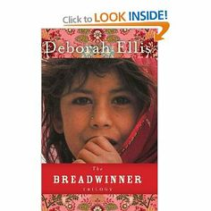 The novel, The Breadwinner, is the first in a trilogy. It is about an eleven year old girl, Parvana, who must become her family's breadwinner because the Taliban have imprisoned her father and the law forbids her mother to work. Great Books, My Books, Used Books Online, Seventh Grade, Reading Levels, Book Girl, Book Worms, Childrens Books, Novels