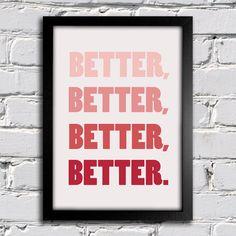 Poster Beatles - Hey Jude - Better - Encadreé Posters