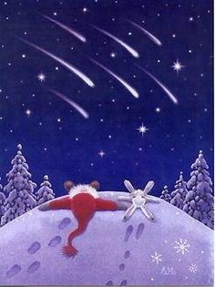Swedish artist Eva Melhuish Gnome Tomte Christmas Cards Box of 12 Boxed Christmas Cards, Christmas Mood, Noel Christmas, Christmas Pictures, Christmas Crafts, Swedish Christmas Decorations, Illustration Noel, Christmas Illustration, Whimsical Art