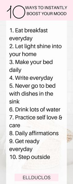 10 daily habits to instantly boost your mood! How to get yourself out of a funk. These 10 daily habits will instantly boost your mood. Invest in your happiness and live a better lifestyle. The only mood boosting tips you need. Stephen Covey, Live Happy, Happy Life, Motivational Words, Inspirational Quotes, Happy Quotes, Life Quotes, Wisdom Quotes, Quotes Quotes