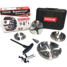 Nova Lathes 23099 NOVA SuperNOVA2 Chuck 30th Anniversary Bundle w/ Case New