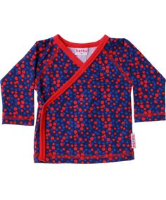 Baba Babywear baby wrap met gekleurde bolletjes. baba-babywear.nl.emilea.be