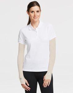 Arm Sleeves With Thumbhole UPF50  Sun Protection I Sensitive Fabric