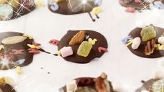 Want your kids to do the baking this Try this recipe for Chocolate Disc Variety with Mixed Nuts and Sweets! Mixed Nuts, Christmas Recipes, Chocolate Recipes, Sweets, Baking, Desserts, Kids, Food, Tailgate Desserts