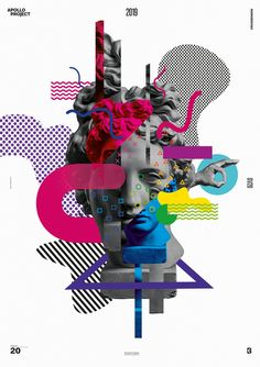 """The Poster Design titled """"Ostracism"""" is a Digital Art Creation made geometrical shapes and a colorful gradient of shapes and patterns. Creative Poster Design, Graphic Design Posters, Graphic Design Illustration, Graphic Design Inspiration, Graphic Art, Web Design, Game Design, Book Design, Text Poster"""
